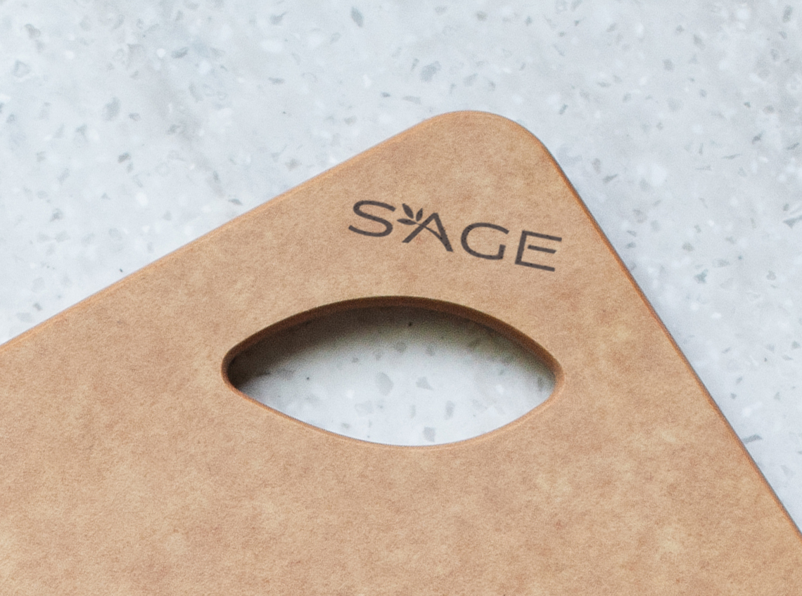 Sage Surface Nonskid Chop Board
